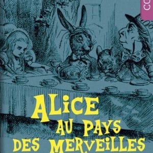 Conte personnalisé couverture Alice au Pays des merveilles
