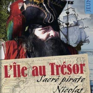 roman personnalise ile au trésor UNE descriptif 436x632