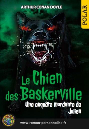 le chien des baskerville roman personnalisé policier