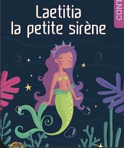 Laetitia la petite sirène-LIVRE PERSONNALISÉ fille Mon Roman Personnalisé 419x602