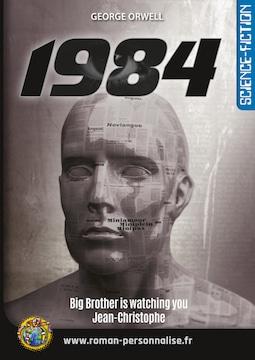 roman personnalisé science-fiction 1984