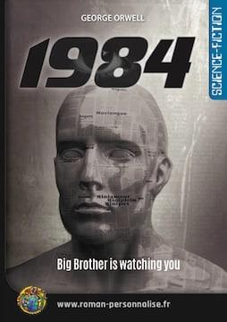 roman personnalisé science-fiction 1984 - format 255x360