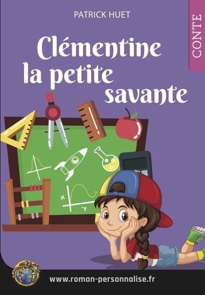 livre personnalisé Clémentine la petite savante couverture 418x602