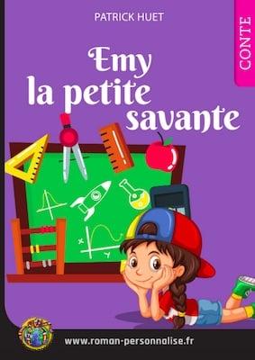 livre personnalisé enfant Clémentine la petite savante personnalisé pour Emy