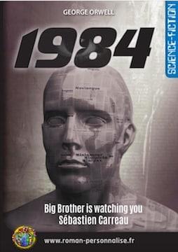 roman personnalisé science-fiction 1984 vignette Sébastien 254x360-jpg